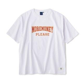 Mo Money Heavyweight Tee / White