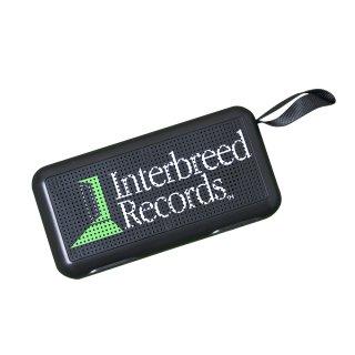 Green Studio Bluetooth Speaker / Black