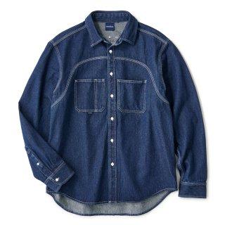 Washed Indigo Shirt / One Wash
