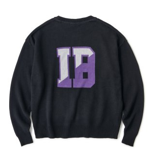 IB Varsity Knit / Black