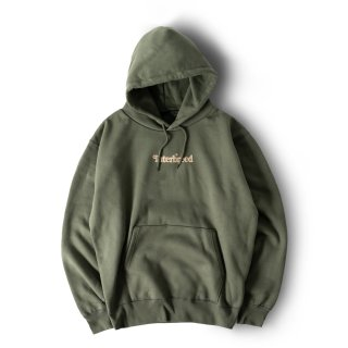 Heavyweight Archive Logo Hoodie / Olive
