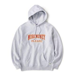 Mo Money Heavyweight Hoodie / Ash