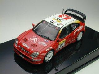 1/43 シトロエン クサラ WRC モンテカルロ 2位 2002 #21 S.Loeb D.Elena<br>