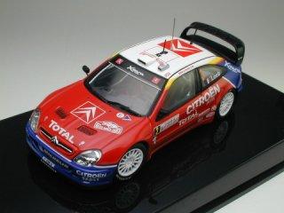 1/43 シトロエン クサラ WRC モンテカルロ 優勝 2004 #3 S.Loeb D.Elena<br>