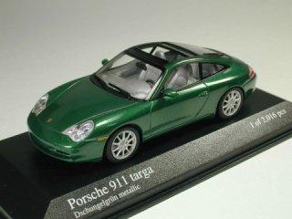 1/43 ポルシェ 911 タルガ  2001 グリーンメタリック<br>