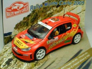 1/43 プジョー 206 WRC ラリーモンテカルロ 2005 #63 X.Pons O.Julia<br>