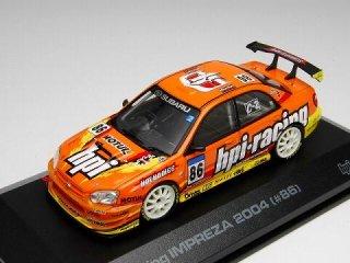1/43 hpi・racing インプレッサ スーパー耐久 2004 #86<br>