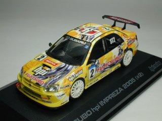 1/43 FUJITSUBO hpi インプレッサ スーパー耐久 ST2クラス優勝 2005 #2<br>