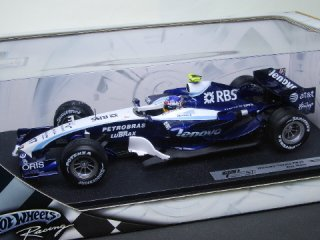 1/18 AT&T ウィリアムズ トヨタ FW29 2007 #17 A.ヴルツ<br>