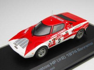 1/43 ランチア ストラトス HF WRC サンレモ 優勝 1974 #2 S.Munari M.Mannucci<br>