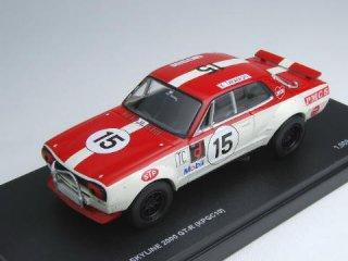 1/43 ニッサン スカイライン 2000GT-R KPGC10レーシング 富士GCマイルレース 1972 #15<br>