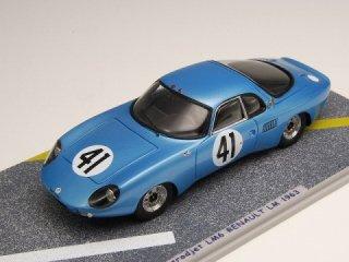 1/43 ルネ ボネ エアロジェット LM6 ルノー ル・マン24時間 14位 1963 #41<br>