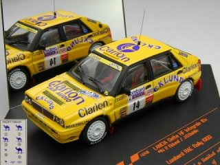 1/43 ランチア デルタ HF インテグラーレ 16V Lombard RAC ラリー 1990 #14 P.Eklund<br>