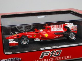 1/43 フェラーリ F10 バーレーンGP 2位 2010 #7 F.マッサ<br>