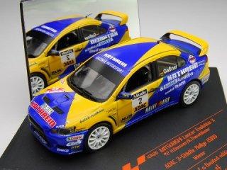 1/43 三菱ランサーエボリューション X ADAC 3-Stadte Rallye 優勝 2009 #2 H.Gassner<br>