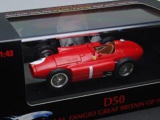 1/43 フェラーリ D50 イギリスGP 優勝 1956 #1 J.M.ファンジオ<br>