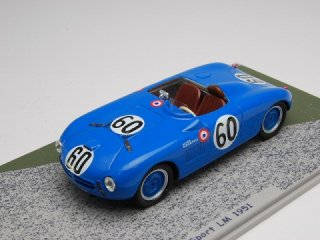 1/43 モノポール X84 スポーツ ル・マン24時間 1951 #60<br>