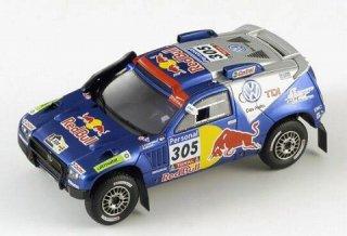 1/43 VW トゥアレグ ダカールラリー 3位 2010 #305 M.Miller<br>
