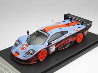 1/43 マクラーレン F1 GTR Gulf 鈴鹿1000km 6位 1997 #1<br>