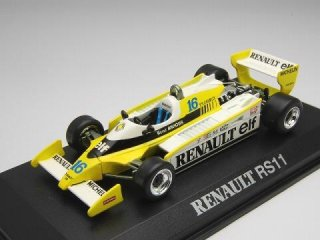 1/43 ルノー F1 RS11 フランスGP 3位 1979 #16 R.アルヌー<br>