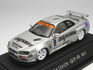 1/43 DAISHIN ニスモ GT-R N1 スーパー耐久 1999 #8<br>