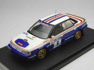 1/43 スバル レガシィ RS マンクスインターナショナルラリー 優勝 1991 #6 C.McRae<br>