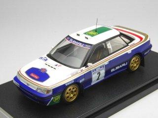 1/43 スバル レガシィ RS マンクスインターナショナルラリー 2位 1991 #2 F.Chatriot<br>