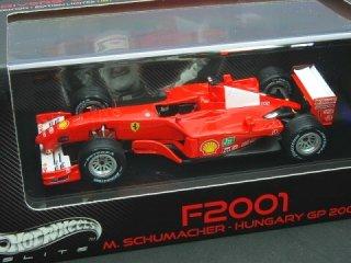 1/43 フェラーリ F2001 ハンガリーGP 優勝 2001 #1 M.シューマッハ<br>