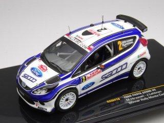 1/43 フォード フィエスタ S2000 ラリー・モンテカルロ 優勝 2010 #2 M.Hirvonen<br>