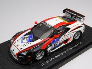 1/43 レクサス LFA GAZOO Racing ニュルブルクリンク24時間 2011 #87 【レジン】<br>