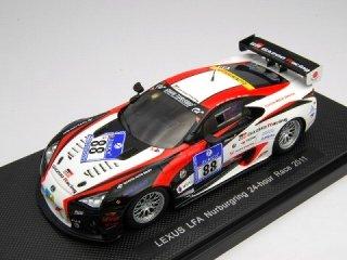 1/43 レクサス LFA GAZOO Racing ニュルブルクリンク24時間 2011 #88 【レジン】<br>