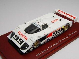 1/43 トヨタ イーグル GTP セブリング12時間 優勝 1993 #99<br>