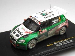 1/43 シュコダ ファビア S2000 ラリー・モンテカルロ 2位 2010 #5 J.Hanninen ウェザリング仕様<br>
