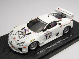 1/43 レクサス LFA ニュルブルクリンク VLN 4-hour Race 17位 クラス優勝 2011 #119【レジン】<br>