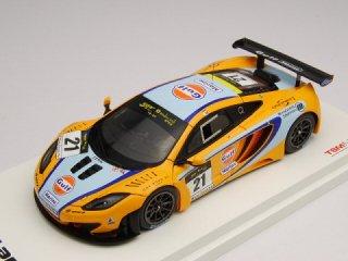 1/43 マクラーレン MP4-12C GT3 ガルフマリーン マカオGTカップ 3位 2011 #21<br>