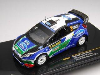 1/43 フォード フィエスタRS WRC ラリー・スウェーデン 優勝 2012 #3 J.M.Latvala<br>