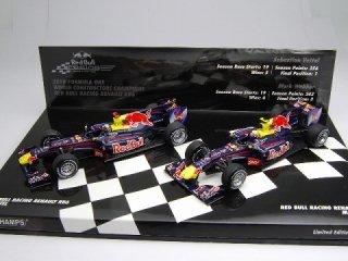 1/43 レッドブル レーシング ルノー RB6 2010 F1ワールドコンストラクターズチャンピオン 2台セット #5 #6<br>