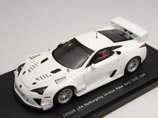 1/43 レクサス LFA テストカー ニュルブルクリンク24時間 2012 ホワイト<br>