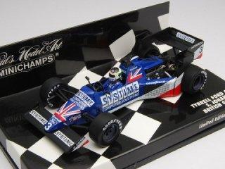 1/43 ティレル フォード 012 イギリスGP 1984 #3 S.ヨハンソン<br>
