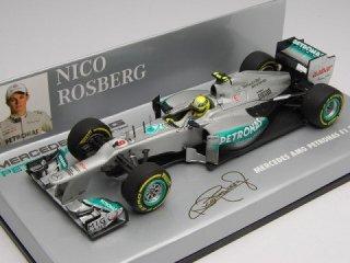 1/43 メルセデス AMG ペトロナス F1チーム W03 2012 #8 N.ロズベルグ<br>