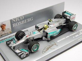 1/43 メルセデス AMG ペトロナス F1チーム W03 中国GP 初優勝 2012 #8 N.ロズベルグ<br>