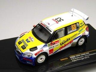 1/43 シュコダ ファビア S2000 S-WRC ラリー・ポルトガル 2010 #53 P-G.Andersson<br>