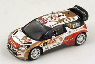 1/43 シトロエン DS3 WRC ラリー・モンテカルロ 3位 2014 #3 K.Meeke<br>