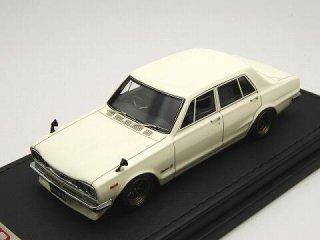 1/43 ニッサン スカイライン 2000 GT-R(PGC10) 1970 ホワイト<br>