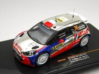 1/43 シトロエン DS3 RRC ラリージャーマニー 2013 #74 R.Kubica<br>