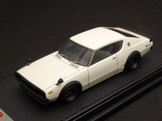 1/43 ニッサン スカイライン 2000GT-R (KPGC110) ホワイト<br>