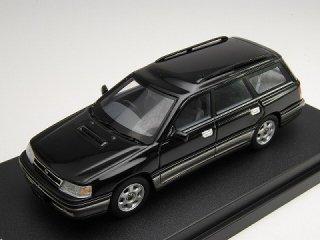 1/43 スバル レガシィ ツーリング ワゴン GT 1989 ブラックマイカ/ミディアムグレー・メタリック ツートン<br>