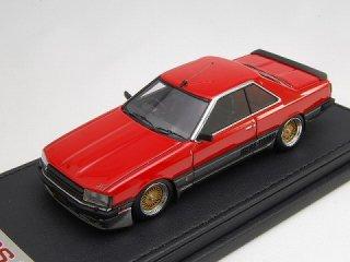 1/43 ニッサン スカイライン 2000 RS-Turbo (R30) SSR Type Wheel レッド<br>