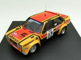 1/43 フィアット 131 アバルト calberson ラリー・モンテカルロ 7位 1980 #12 M.Mouton<br>