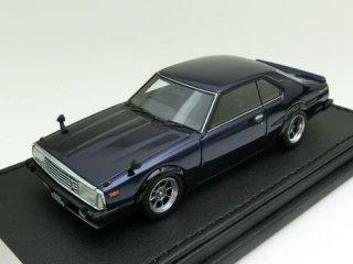 1/43 ニッサン スカイライン 2000 Turbo GT-ES (C211)パープル<br>